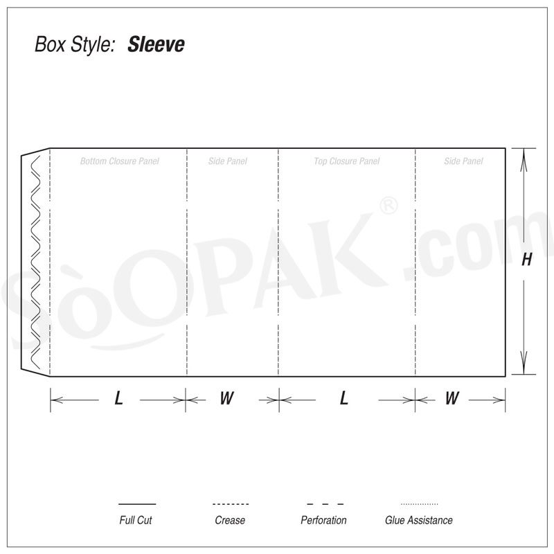 Electronic Sleeve Box boxes