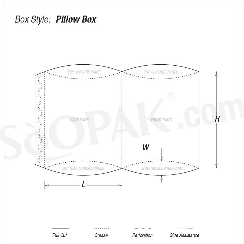 Retail Packaging Pillow Boxes
