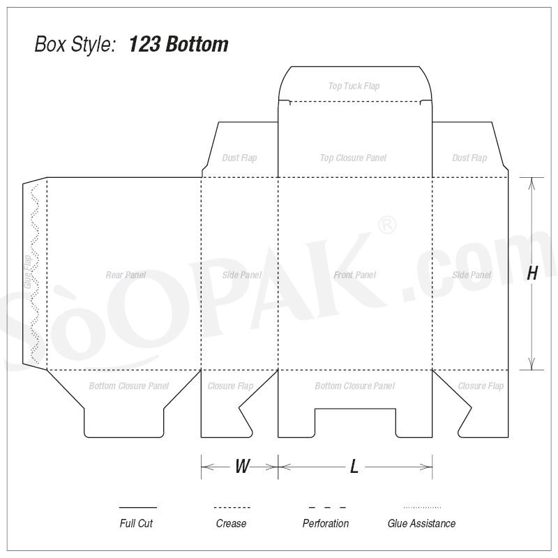 1-2-3 Bottom Electronic Box