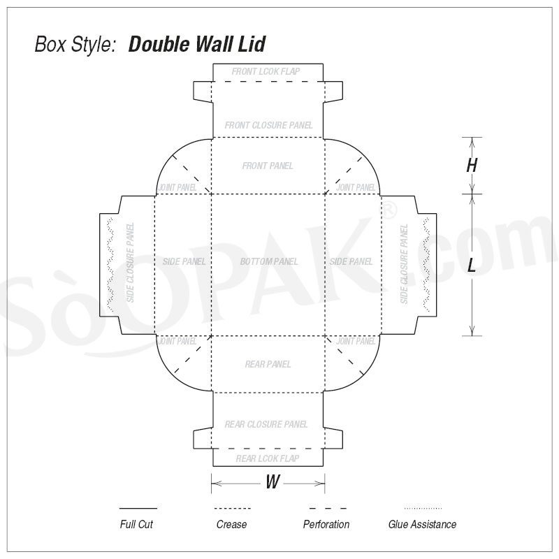 Double Wall Lid