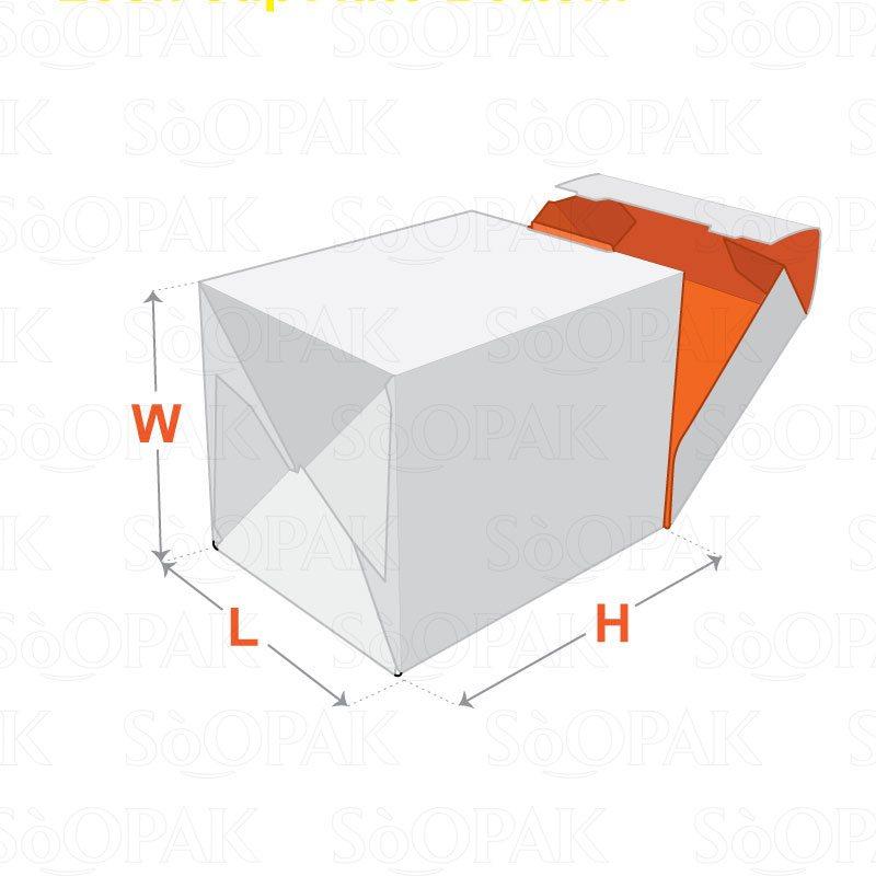 lock cap auto bottom boxes