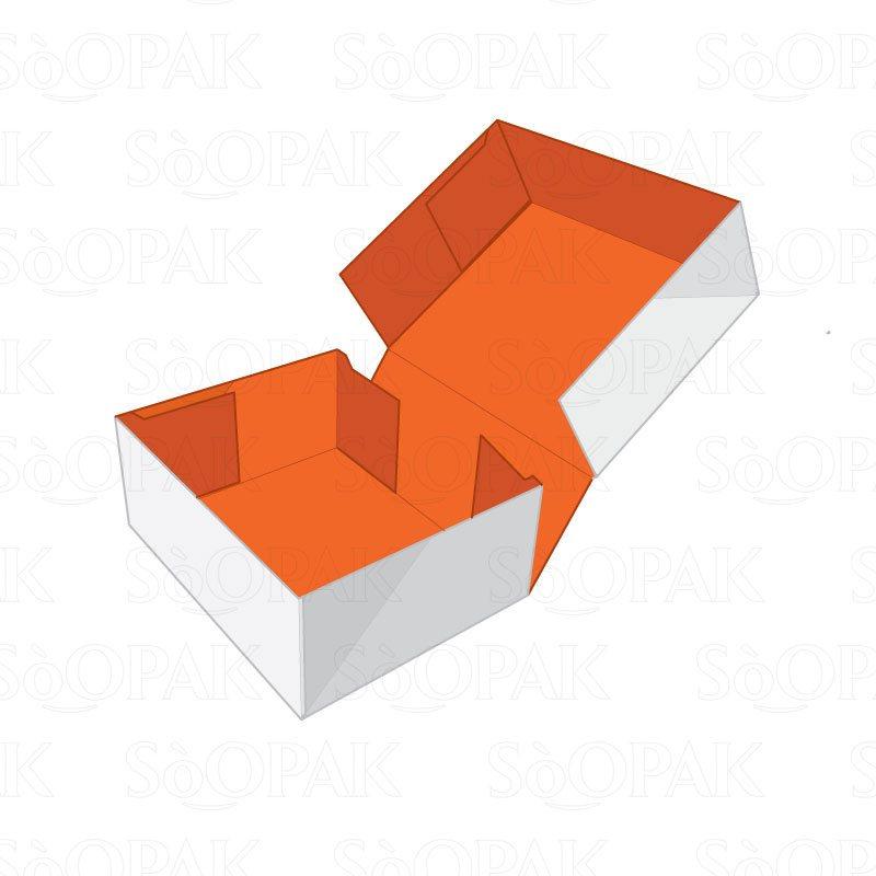 Four Corner Cake Box