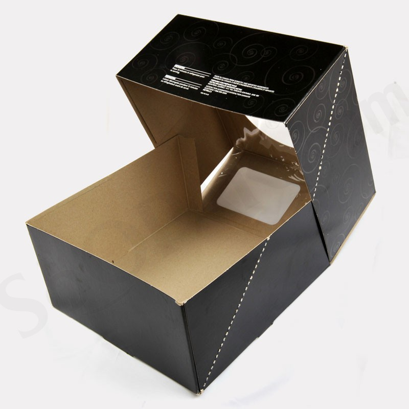 Four Corner Cake Packaging