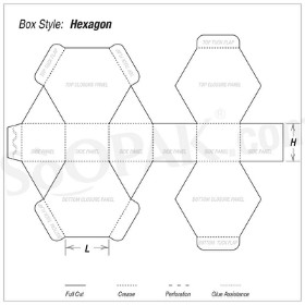 Hexagon Boxes image