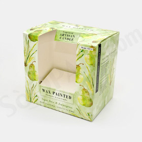 candle full flap auto bottom boxes image